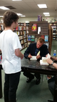 James Rollins book signing - 8/19/14 - 3/3 by HeroWolf95