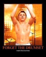 Forget The Drumset by Lady-Vibeke