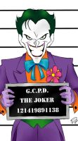 Gotham City Mugshots:  The Joker by DarthGuyford