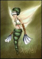 The Insect Warrior by EmilieDionne