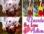 +Decode the love Action by FrambueEditions