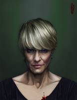 Claire Underwood by FluorineSpark