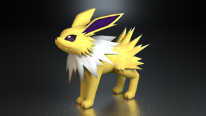 #135. Jolteon by TheAdorableOshawott