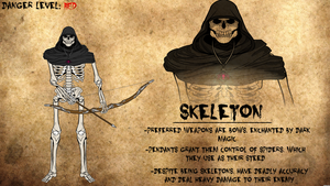 Skeleton Journal Entry by Vectorman316