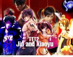 TTT2 Xiaoyu and Jin by CapriciousJinx