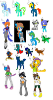 Leftover Adopts by Jc-the-penguin