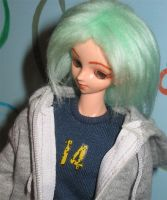 Kyle just passing by closeup by prettysewingmachine