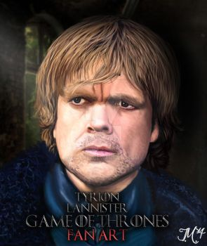 Tyrion Lannister - Fan Art - Digital Painting by Trek25