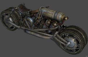 'Damnation' Steam bike XPS ONLY!!! by lezisell