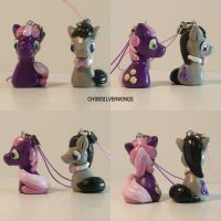 Cheerilee and Octavia Charm by ChibiSilverWings