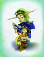 Daxter gets bandaged _ eno by cocohints