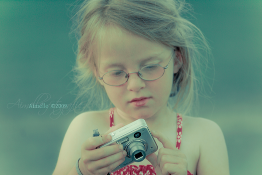 a future serious photographer by Aimelle