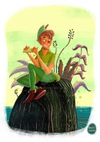 Peter Pan by D3iv