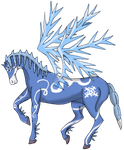 Horse OC: Frost by AbbyRoadRoute66