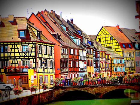 Some Flashy Half-timbered Houses by Cloudwhisperer67