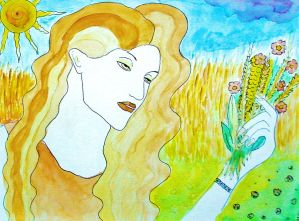 Demeter Goddess of Harvest