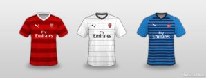 Arsenal Puma kit concept by Mohic