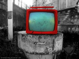 Red TV by ArthurGautama