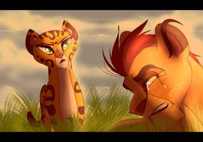 You'll Never Be Scar by Wolf-Chalk