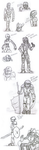 Sketchdump: The Folly of the Toa by Scorpion-Strike