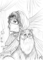 Tribute to cats 2 - Persian by Autumn-Sacura