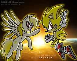 Super Sonic Team by Niban-Destikim