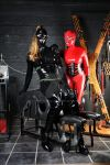 Kinky593 and Latex Model in the Dungeon by LatexModel