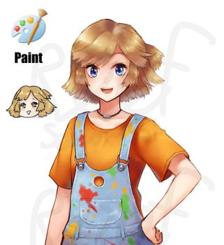 [Program Girl] Paint (remake) by Reef1600
