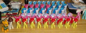 The Pony Army continues to grow by OtakuSquirrel