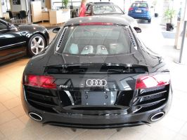 R8 Rear by PhotographiCreed