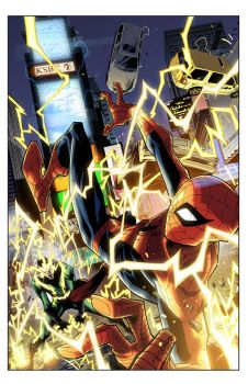 Cover: Spidey 08 by E-Mann