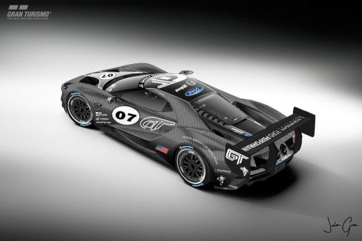 Ford GT LM spec III test car pic 3 by girabyte225-jc-lover