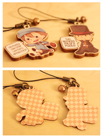 Charms: Professor Layton by Haiyun