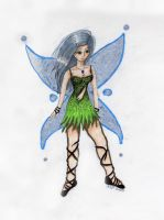 Green Fairy V2 by eviebaby723