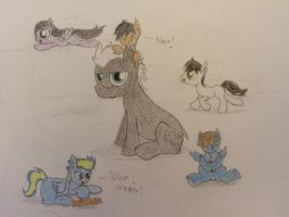 Playtime With Uncle Gamma by ProfessionalPuppy