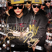 Blend de Justin Bieber , You re my favorite boy. by OurDreamsComeTrue