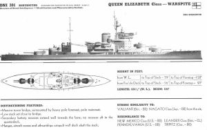 Technical Drawings: HMS Warspite by bwan69