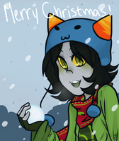 Merry Gristmas!! by sonicat62
