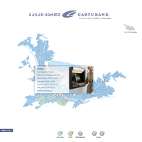 Cartu Bank ATM Map design by Jazzoline