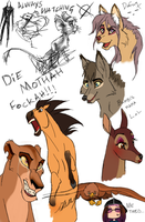 Doodling 'cause I can, and yes, I'm alive.. by GOTFA-Comics