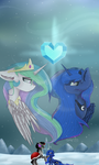 Princesses of Equestria , King of shadows by FeatherShine1