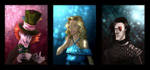 aiw - trio by the-evil-legacy