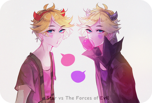 Star vs The Forces of Evil by choco0950