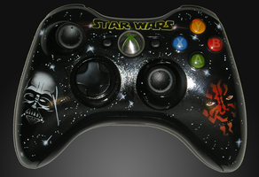 Darkside xbox 360 controller by chrisfurguson