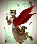 Winged Hybrid - Contest Entry by Albino-Yaoi