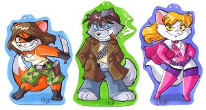 Con Badges by Candy-Janney