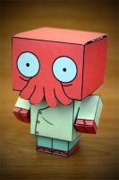 CubeCraft Zoidberg by digital-uncool