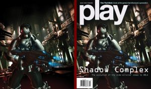 50K July 2009 PLAY Cover by RobDuenas