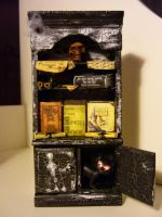 Witches bookcase ready2 by SoDarkSoCute
