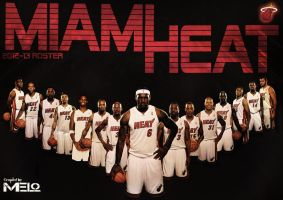 MIAMI HEAT 2012-13 Roster -More Edited by carmelosidd